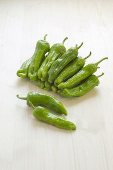 Free Sweet Green Peppers Royalty Free Stock Photos - 20433048