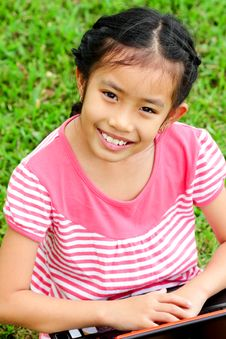 Free Closeup Portrait Of Cute Young Stock Photography - 20433222