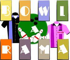 Bowl A Rama Royalty Free Stock Photo