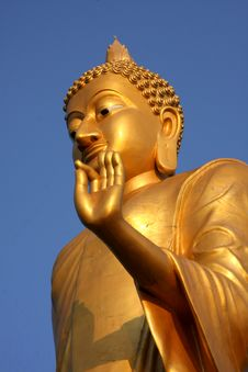 Free Golden Buddha Royalty Free Stock Image - 20433666