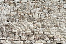 Free Background From High Detailed Fragment Stone Wall Royalty Free Stock Image - 20433966