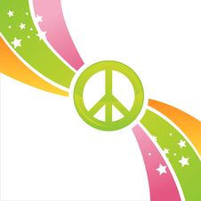 Free Colorful Peace Background Stock Photography - 20434002