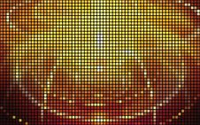 Free Glowing Mosaic Background Royalty Free Stock Photo - 20434845