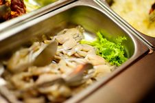 Free Raw Frog Legs On Buffet Stock Photography - 20435322
