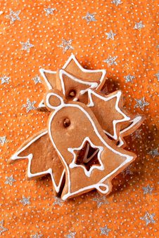 Free Gingerbread Cookies Royalty Free Stock Photo - 20437225