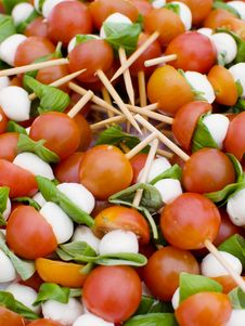 Free Tomato And Mozzarella Royalty Free Stock Photo - 20437425