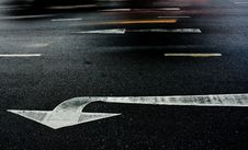 Free The Arrows On The Street Stock Photo - 20438150