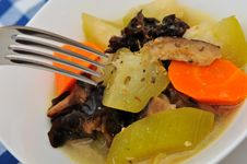 Free Macro Shot Of Oriental Vegetable Soup Stock Images - 20438594