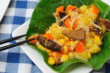 Free Unique Dish Of Potato Salad Stock Images - 20438604