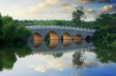 Free Arch Bridge Royalty Free Stock Photos - 20438708