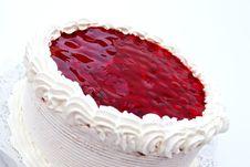 Free Cheesecake With Raspberry Royalty Free Stock Photo - 20438935
