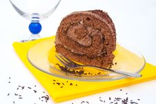 Free Chocolate Roulade Stock Photos - 20438943