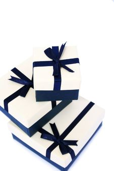 Present Boxes Royalty Free Stock Image