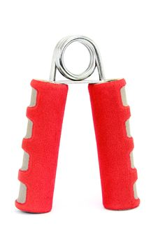 Free Red Hand Gripper Royalty Free Stock Photos - 20439068