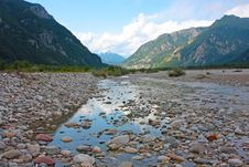 Free View Of Mountain River In Summer Royalty Free Stock Photography - 20439377