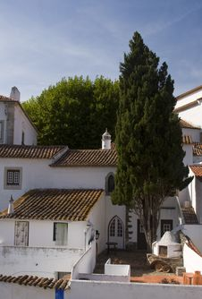 Free White Houses Of Obidos, Portugal Stock Photography - 20439442