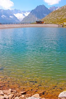 Free Th Lake In The Swiss Alps Stock Image - 20439451