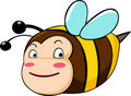 Free Vector Bee Illustration Stock Photos - 20441583