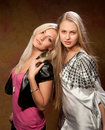 Free Two Beautiful Women Royalty Free Stock Photos - 20442528