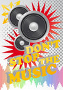 Free Don T Stop The Music Royalty Free Stock Photos - 20443788