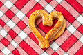 Free Cookies In A Heart Shaped Stock Photography - 20444152