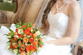 Free Bride Holding Bouquet Royalty Free Stock Photo - 20446215