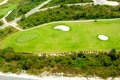 Free Golf Course From Above Stock Photography - 20448022