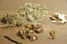 Free Chinese Herbal Soup Ingredients Royalty Free Stock Photos - 20440018