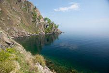 Old Railroad Tunnel Near Lake Baikal Stock Images