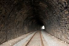 Old Railroad Tunnel Stock Photos