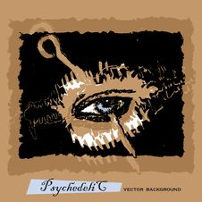 Free Psychedelic Eye Stock Photography - 20441182
