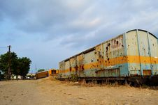 Free Old Railway Coach HDR Stock Images - 20441234