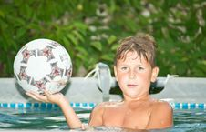 Free Boy In The Pool Stock Images - 20441504