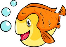 Free Vector Fish Illustration Stock Photo - 20441600