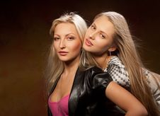 Free Two Pretty Women Stock Photos - 20442333