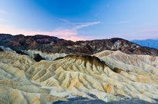 Free Zabriskie Point Royalty Free Stock Images - 20442389