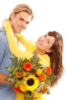 Free Happy Couple Royalty Free Stock Photo - 20442575