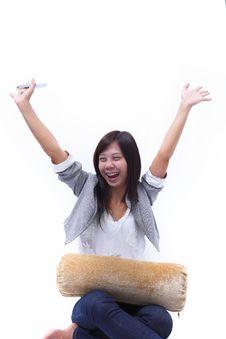 Free Women Glad Emotion Royalty Free Stock Image - 20442976