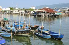 Free Fisherman Boat Royalty Free Stock Photos - 20443378