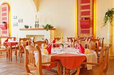 Modern Restaurant Interior Royalty Free Stock Image