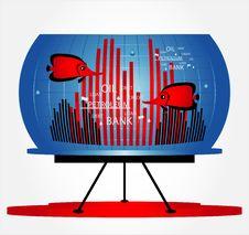 Free Fish In Business Aquarium Royalty Free Stock Image - 20443476