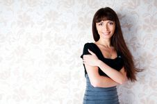 Free Confident Woman With Arms Crossed Royalty Free Stock Image - 20444076