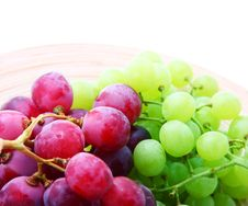 Image Of Red And Green Grapes Royalty Free Stock Photography