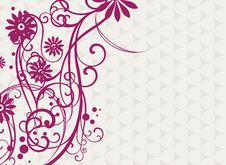 Free Floral Background Royalty Free Stock Photos - 20444328