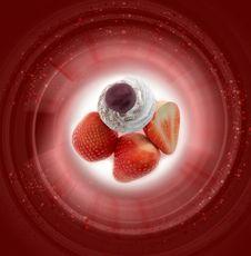 Free Strawberry Jam Stock Photography - 20445692