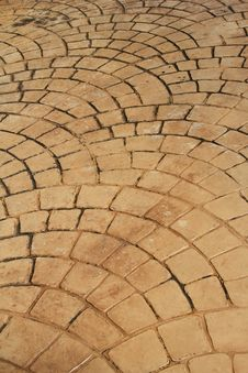 Free Petal-like Brick Road Stock Photo - 20445760