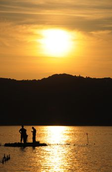 Free Preparing For Fishing Stock Photos - 20445913
