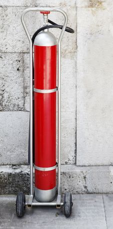 Free Free Standing Fire Extinguisher Stock Image - 20446191