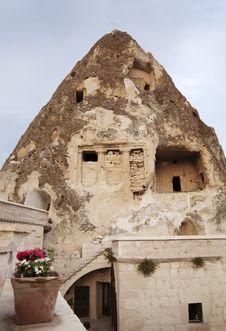 Limestone Sandstone Cave Cappadocia Turkey Stock Images
