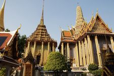 Free Wat Phra Kaew : The Royal Temple Of Bangkok Stock Photos - 20446423